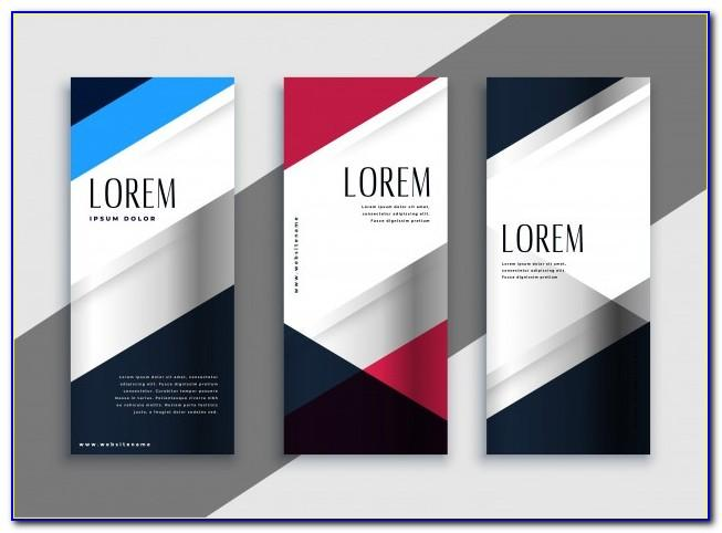 Vertical Banner Template Ai