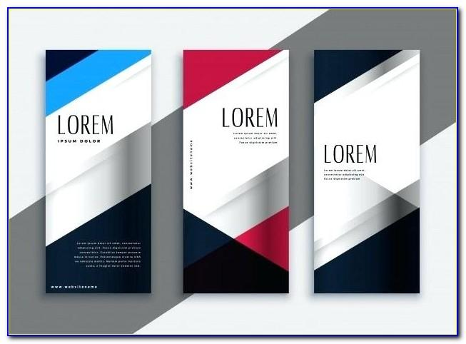 Vertical Banner Template Free Download