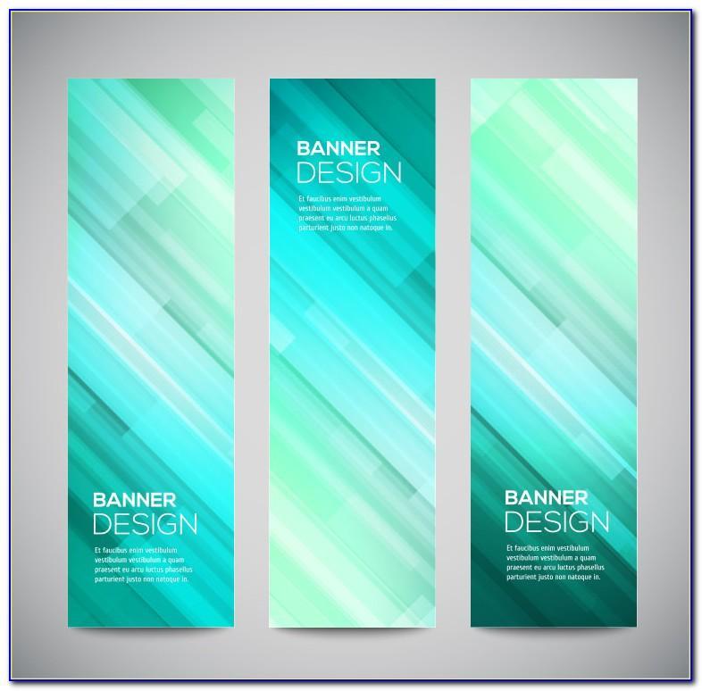 Vertical Flash Banner Templates