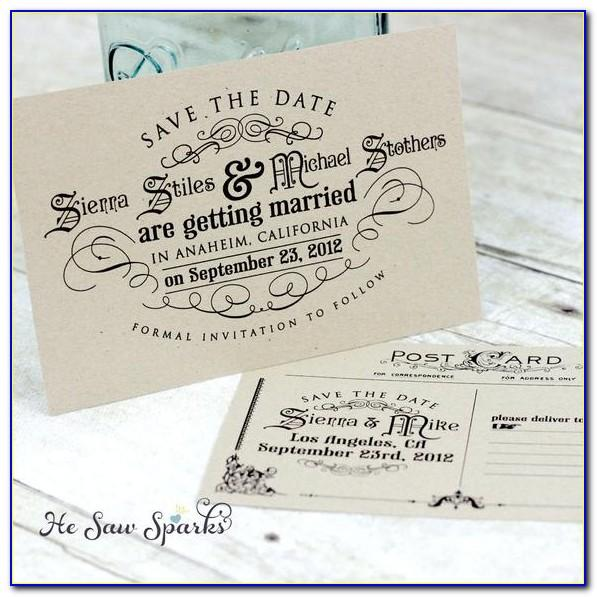 Vintage Save The Date Free Printable