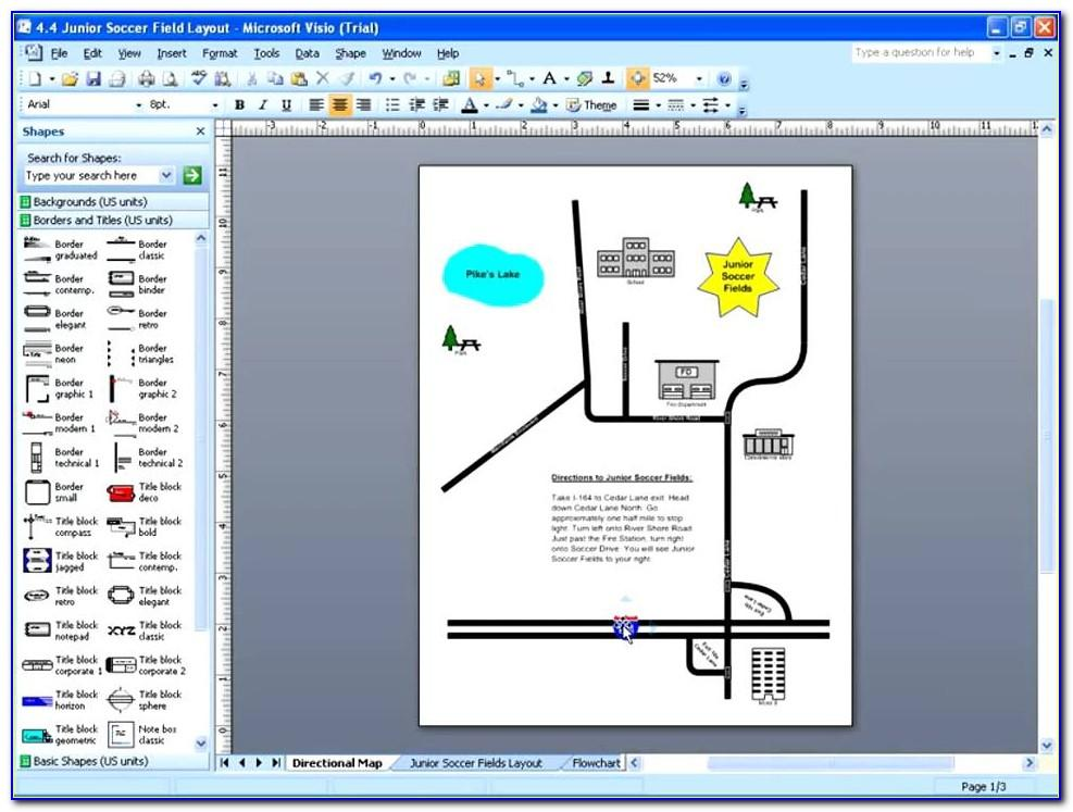 Visio 2007 Template Directory