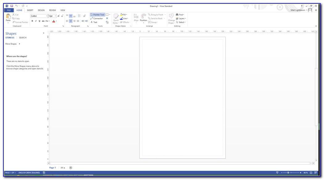 Visio 2013 Database Shape