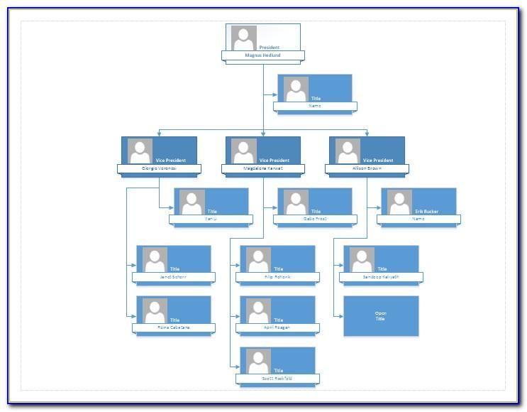 Visio 2013 Plain Org Chart Shapes