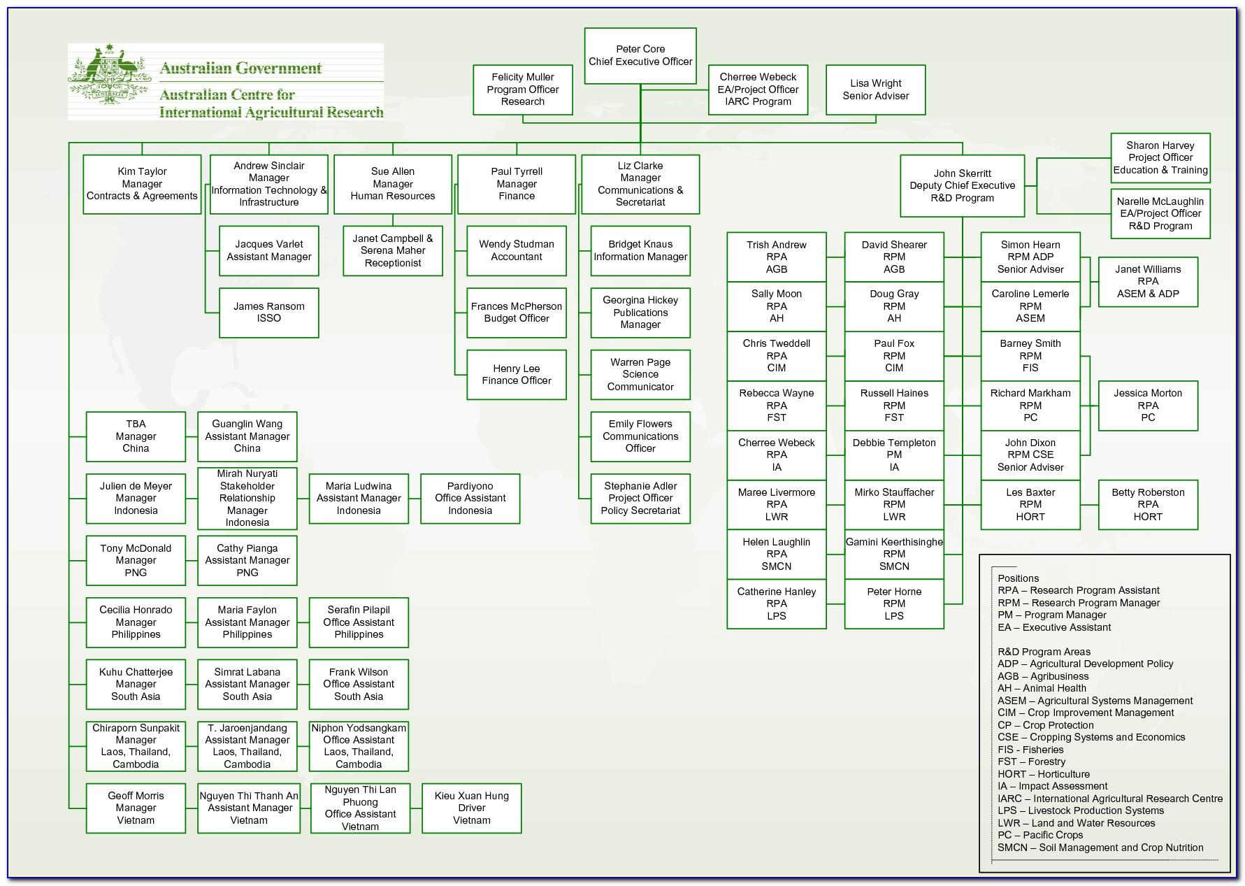 Visio 2016 Organization Chart Template