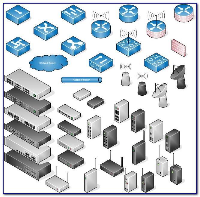 Visio Diagram Templates Network