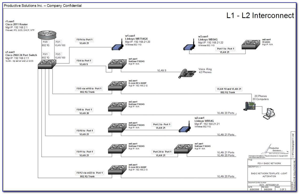 Visio Network Diagram Templates 2007