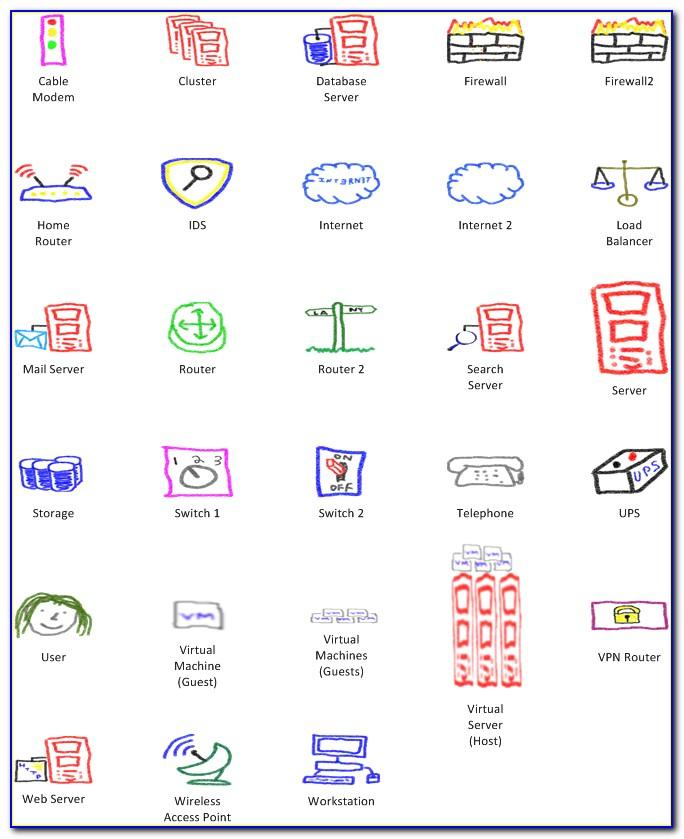 Visio Templates Network Diagram