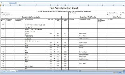 Visual Welding Inspection Report Form