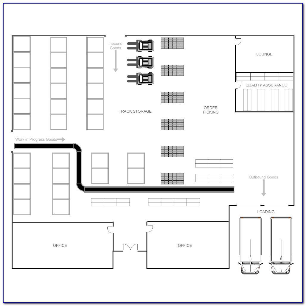 Warehouse Floor Plan Layout