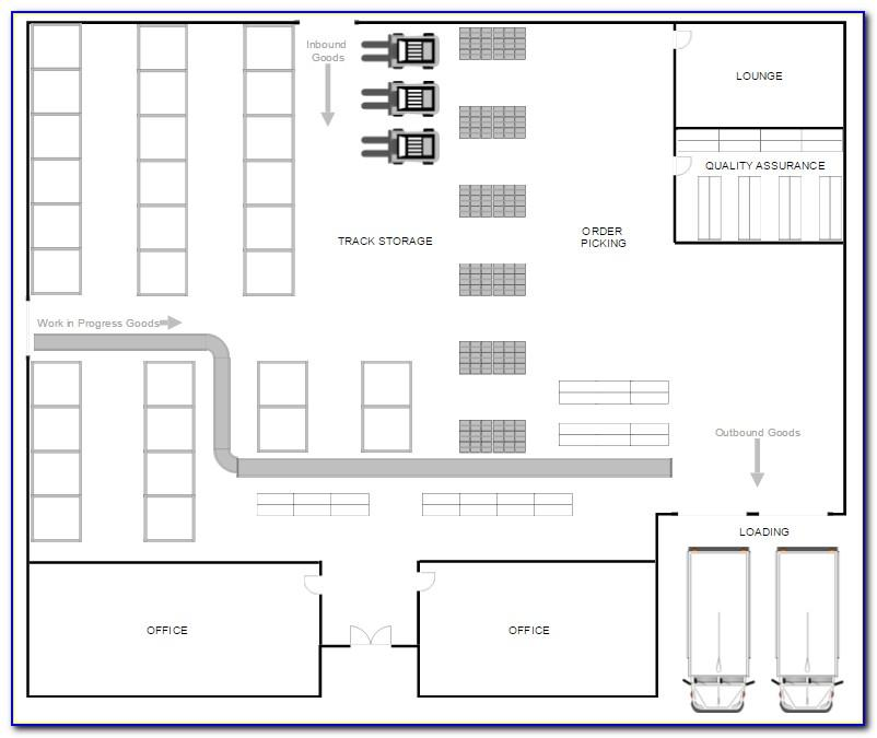 Warehouse Floor Plan Sample