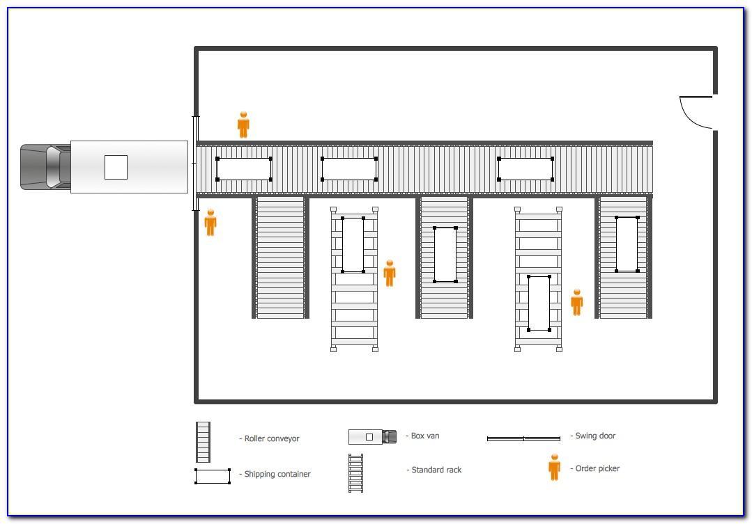 Warehouse Floor Plan Template Excel