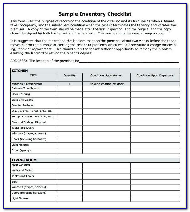 Warehouse Inventory Access Database Template
