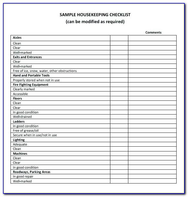 Warehouse Safety Program Template