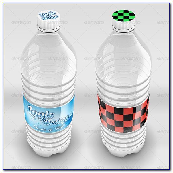 Water Bottle Labels Wedding Template Free