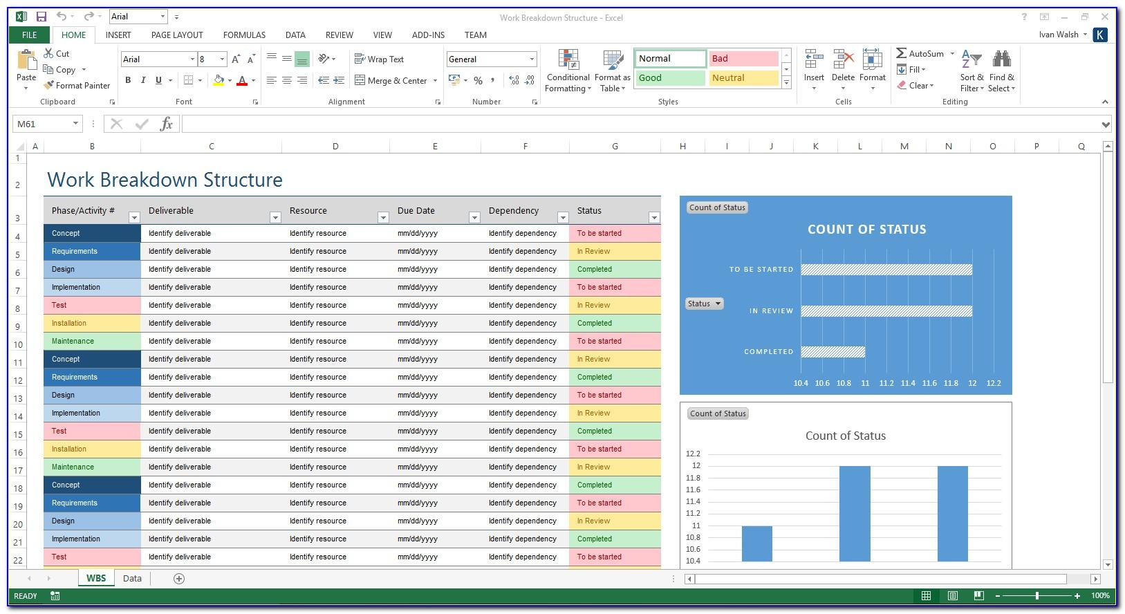 Wbs Template Microsoft Project