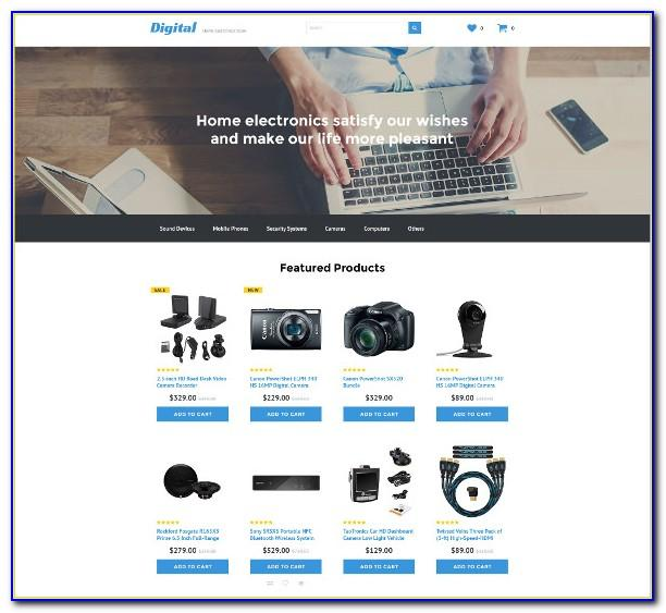 Web One Page Template Free