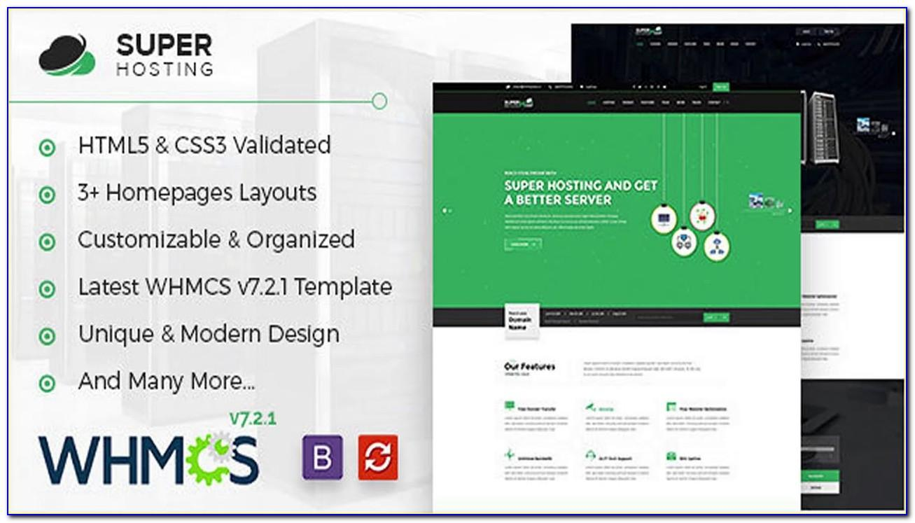 Webhost Html5 & Whmcs Responsive Trending Hosting Template Nulled