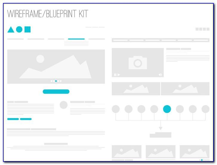 Website Design Wireframe Psd