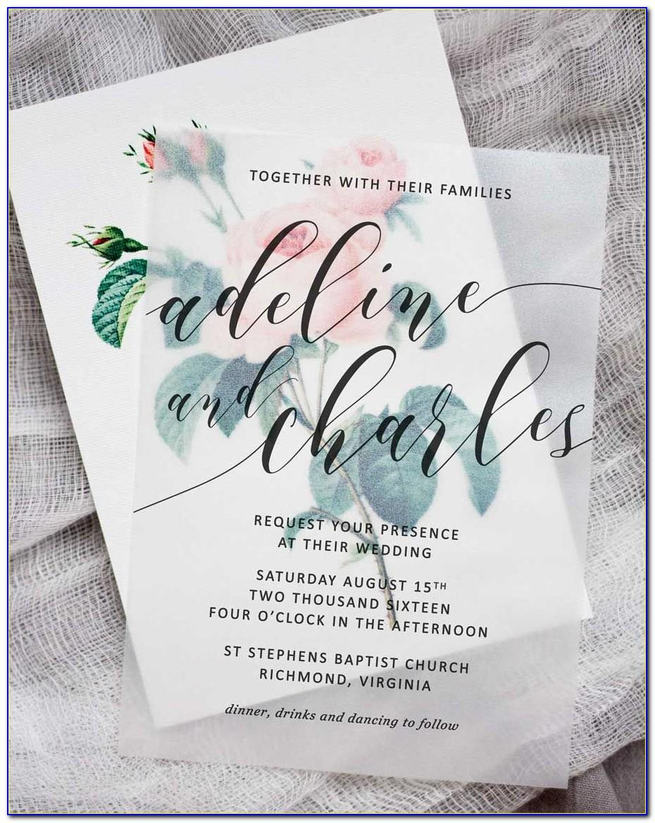 Wedding Announcement Template For Newspaper