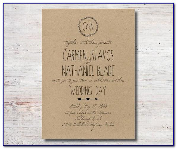 Wedding Announcement Templates For Word