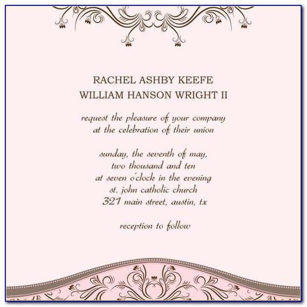 Wedding Booklet Design Templates
