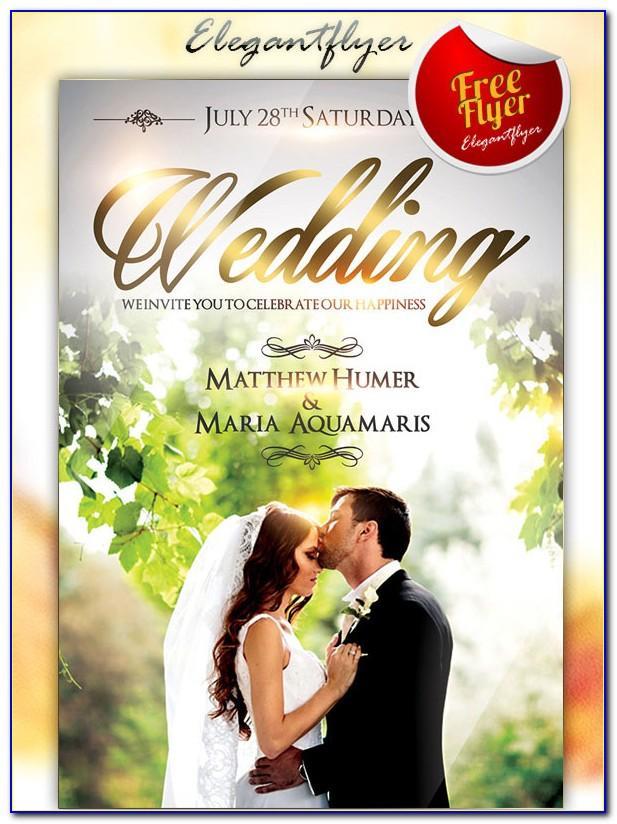 Wedding Brochure Template Publisher