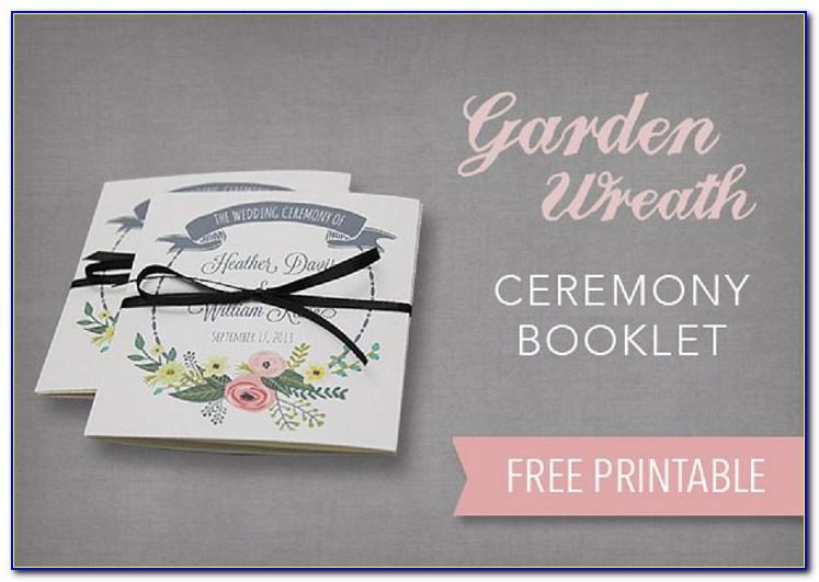 Wedding Brochure Templates Free Download