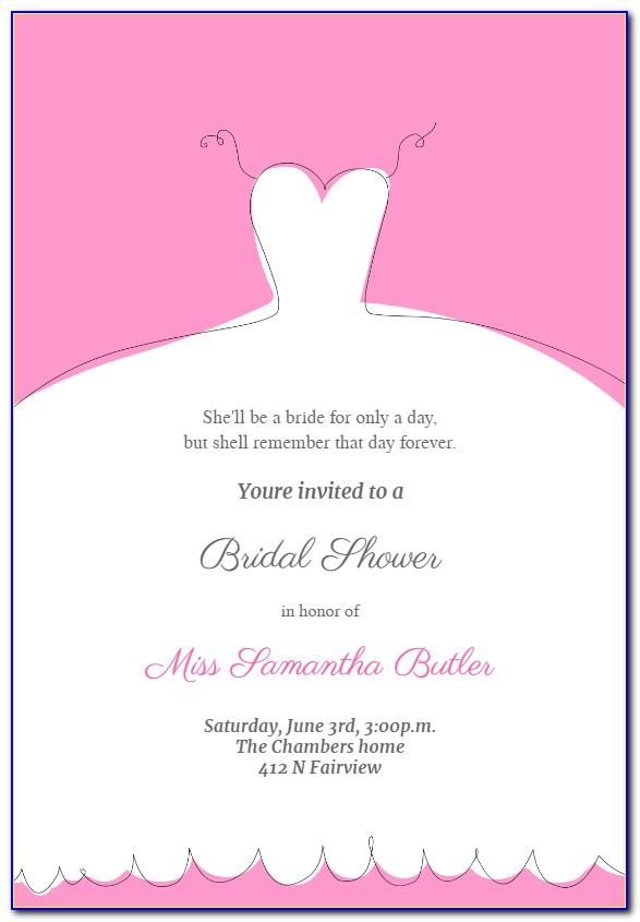 Wedding Drink Menu Template