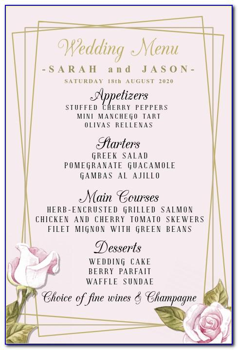 Wedding Guest List Excel Template Mac