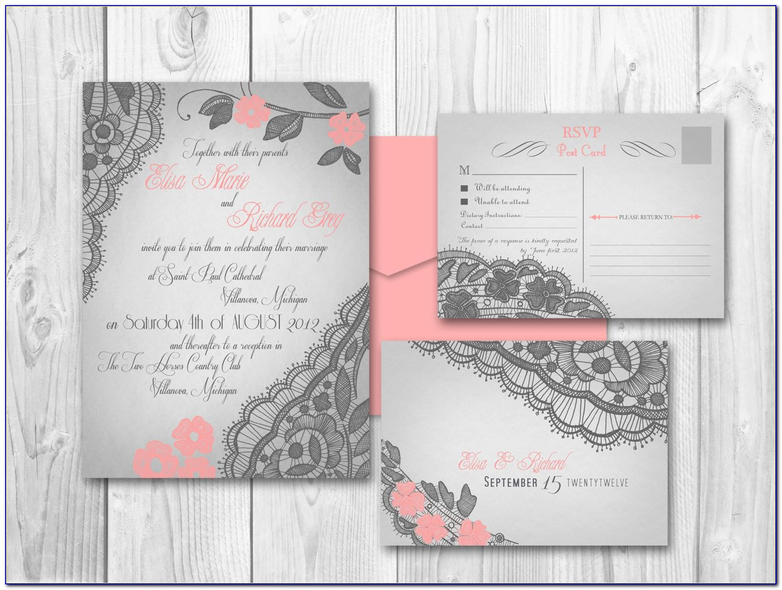 Wedding Invitation Designs For Friends