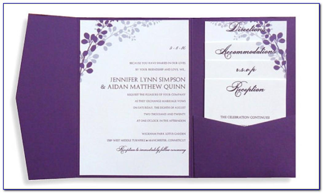 Wedding Invitation Editable Template Free Download