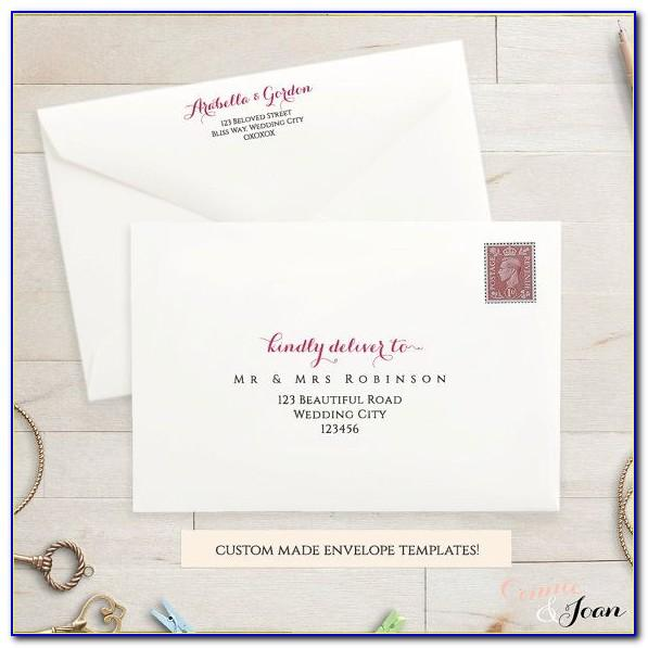 Wedding Invitation Letter Templates