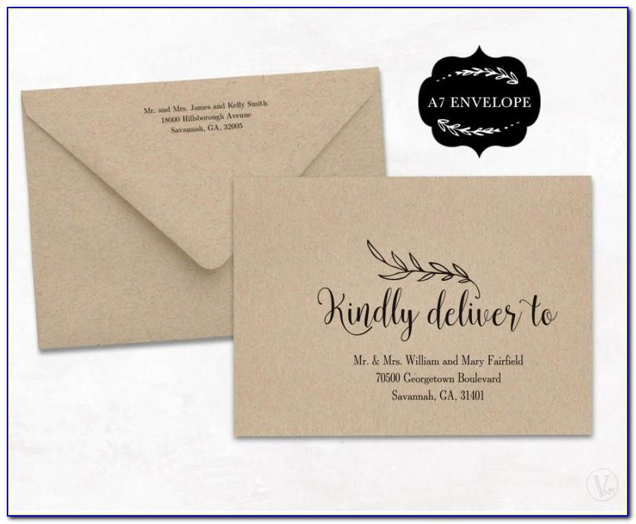 Wedding Invitation Sample Templates