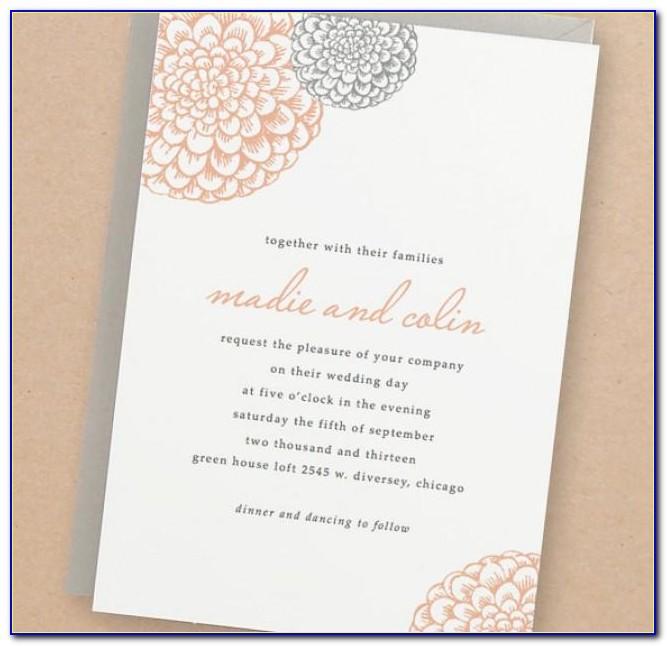 Wedding Invitation Templates Diy