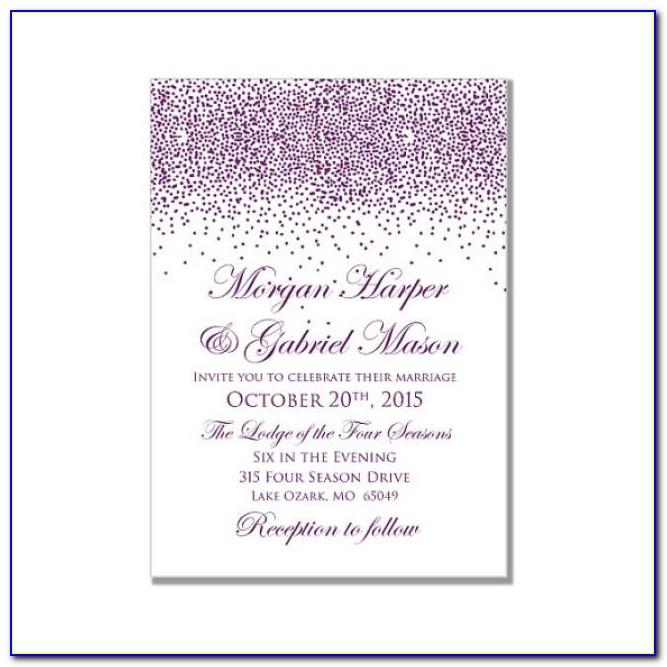 Wedding Invitation Templates Free For Microsoft Word