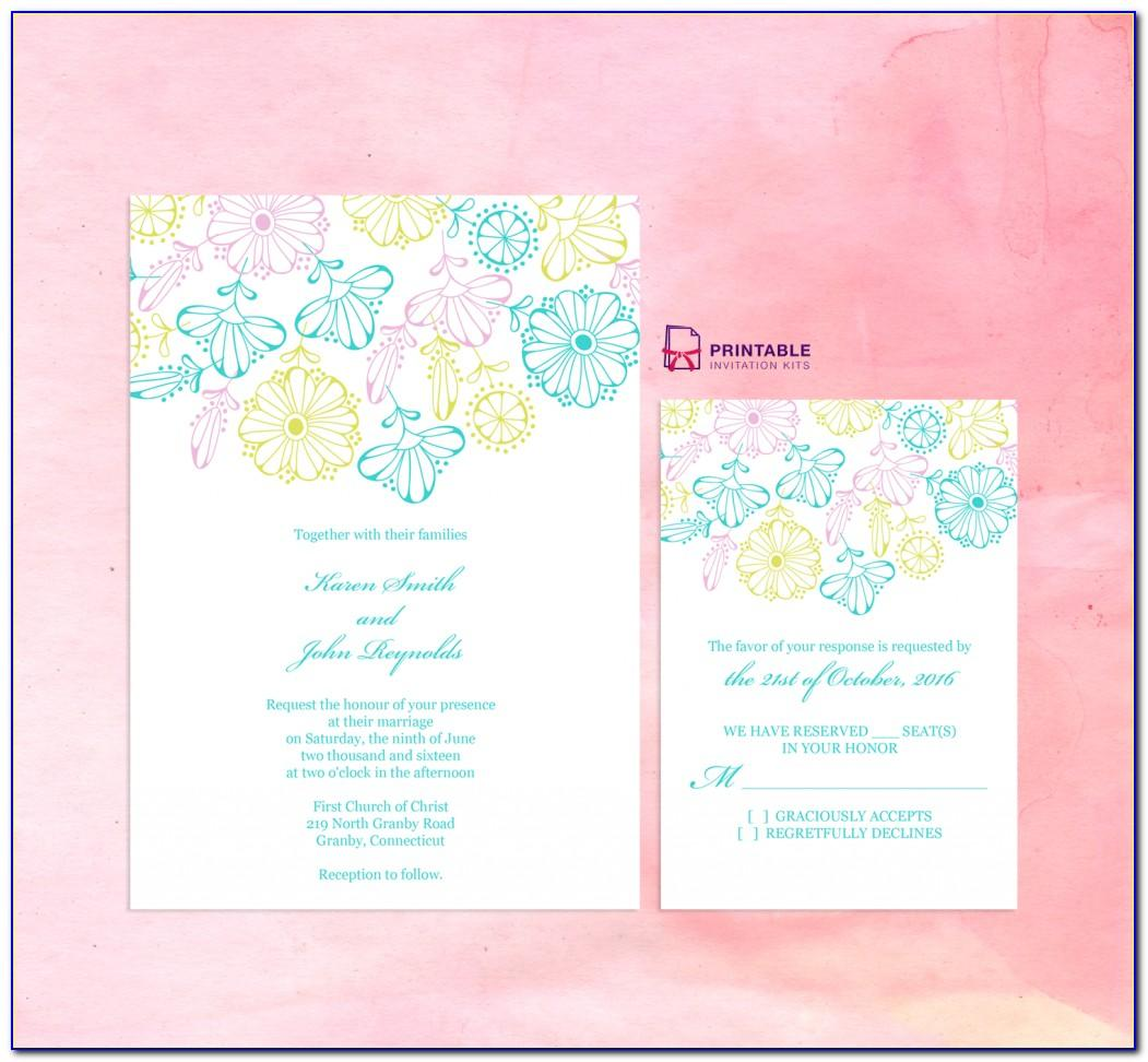 Wedding Invitation Templates Online Free