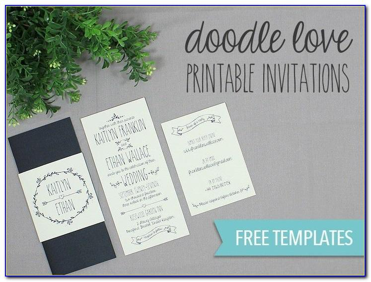 Wedding Invitation Templates Uk Free