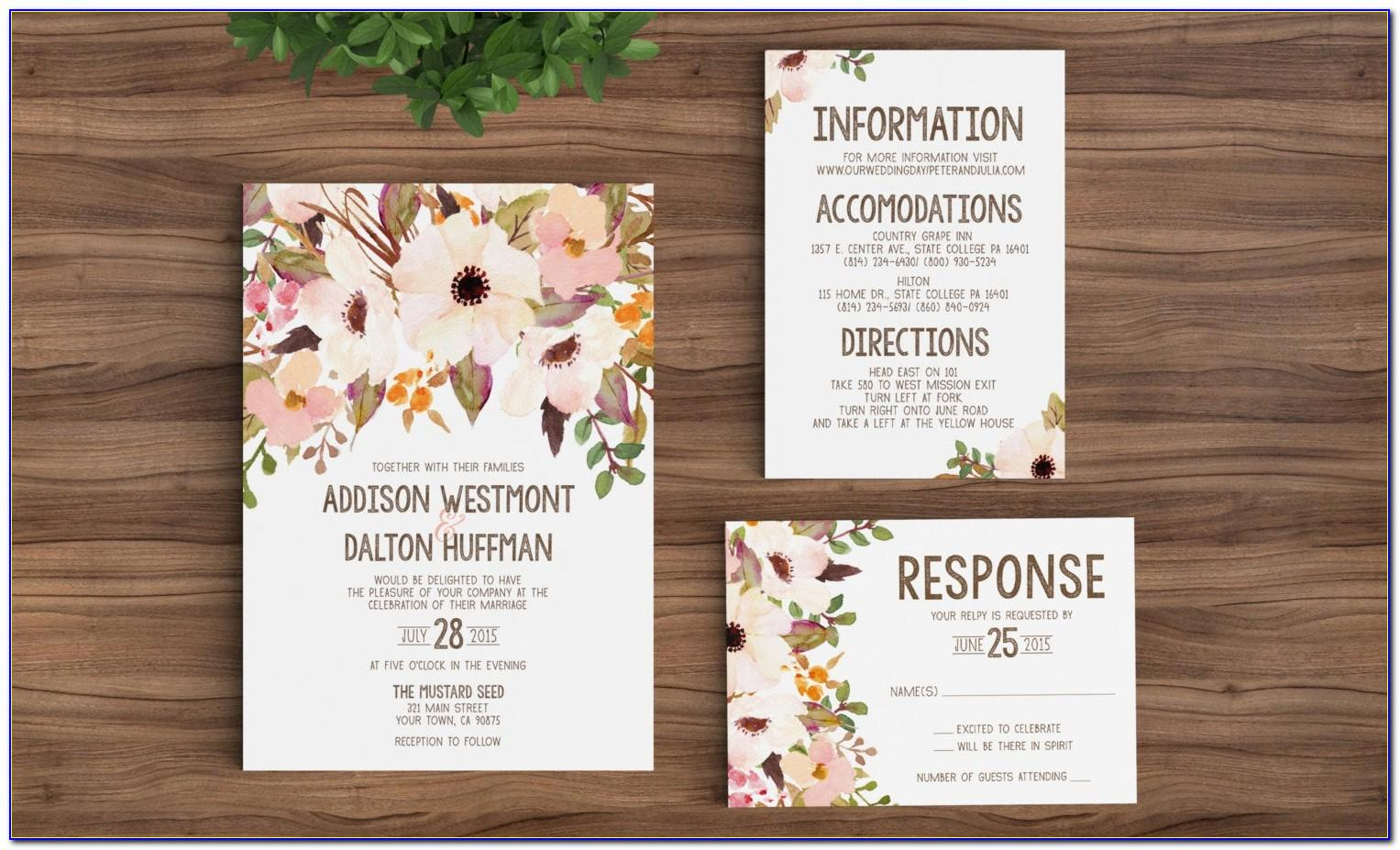 Wedding Invitation Wording For Friends Templates