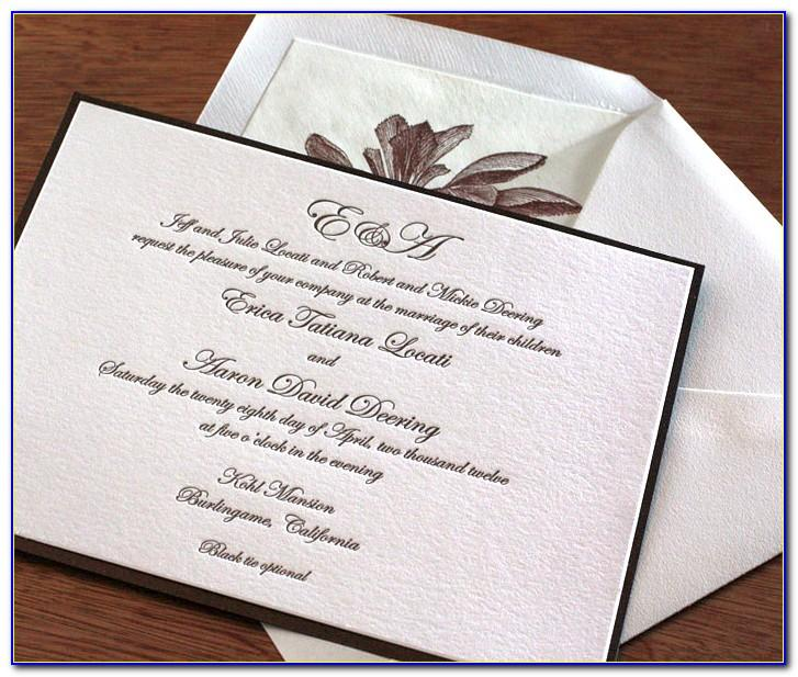 Wedding Invitation Wording Samples Money Gift