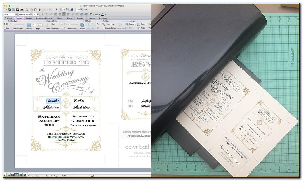 Wedding Invitations Templates Online Free