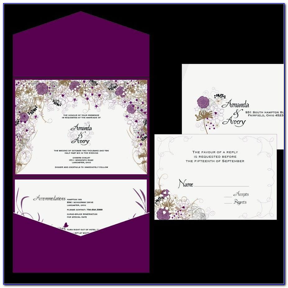 Wedding Invitations Templates Psd Free
