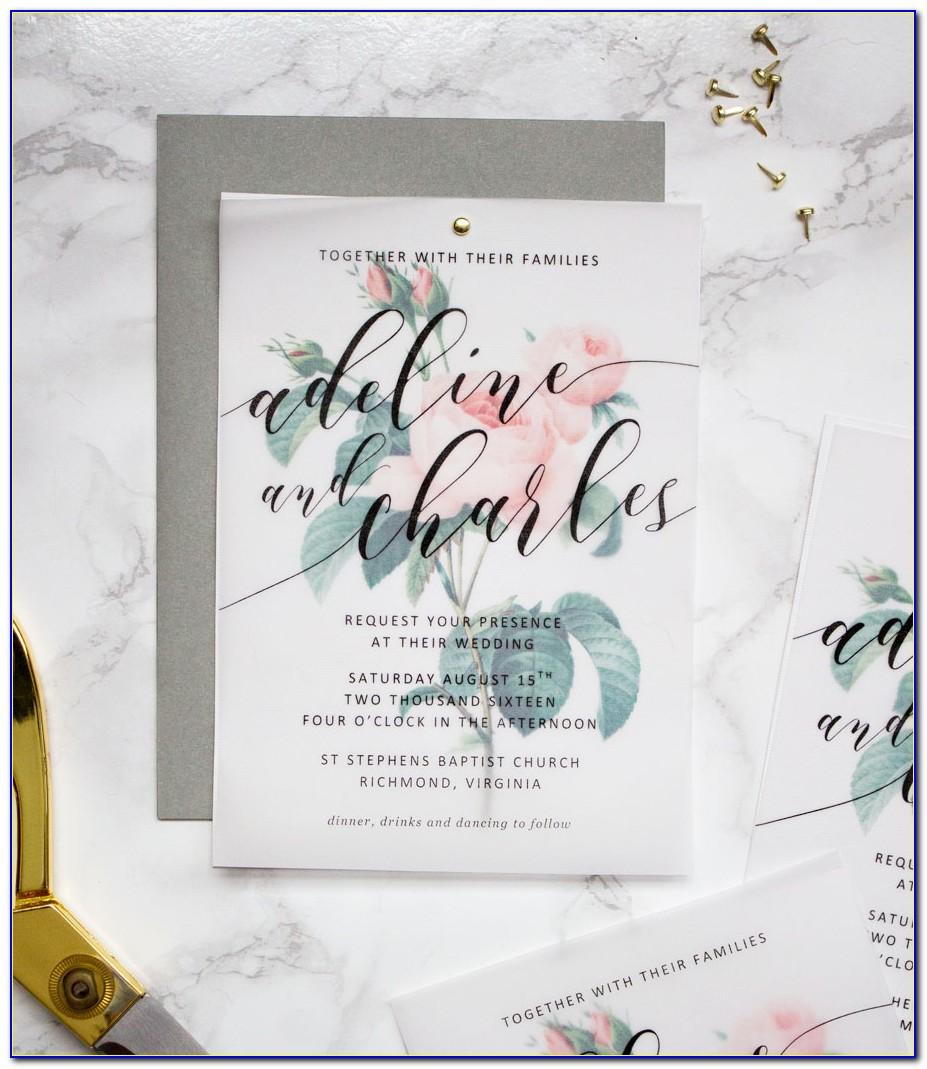 Wedding Invite Templates For Word