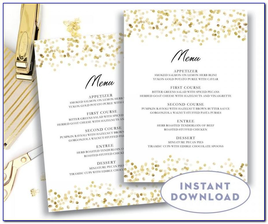 Wedding List Template For Mac