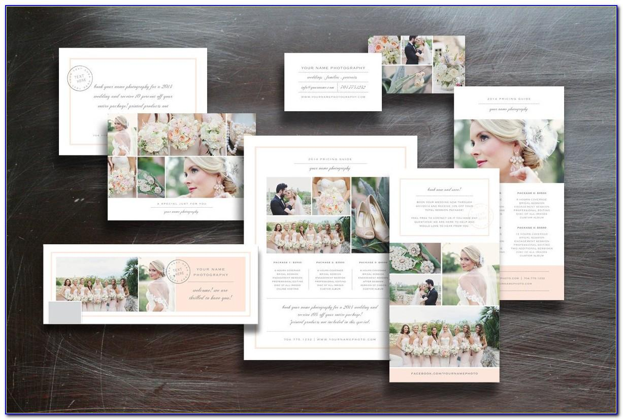 Wedding Marketing Templates For Photographers