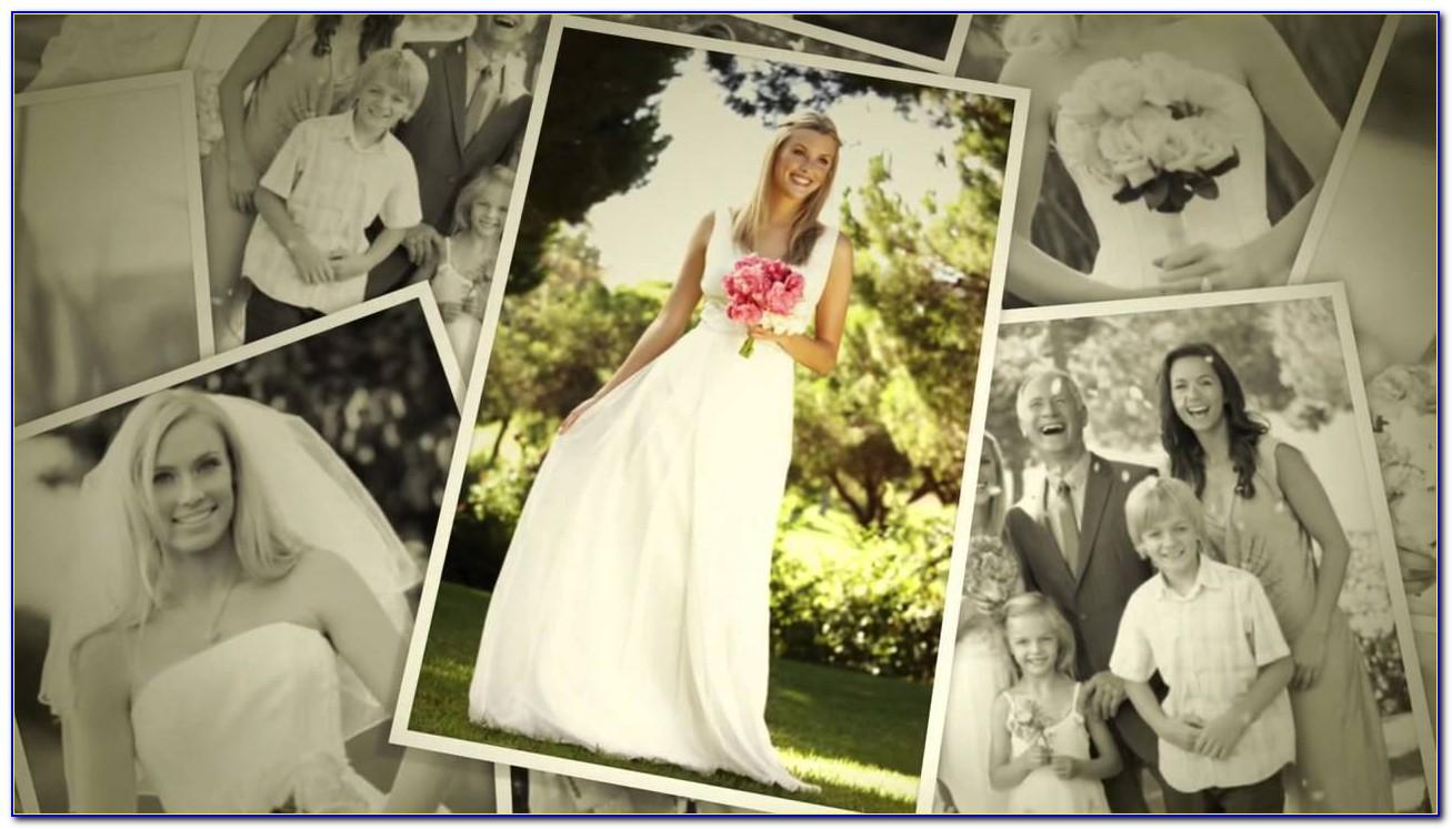 Wedding Photo Montage Template