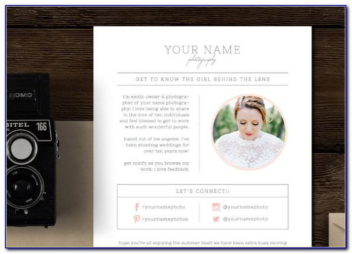 Wedding Photographer Email Templates Free