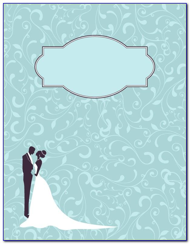 Wedding Planner Binder Template