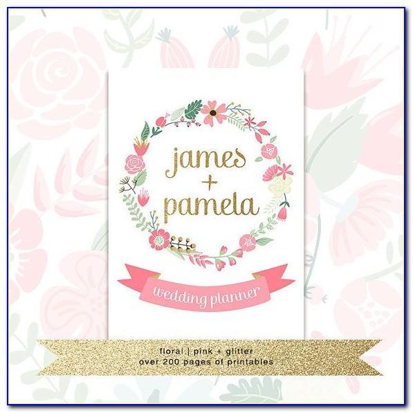 Wedding Planner Binder Templates