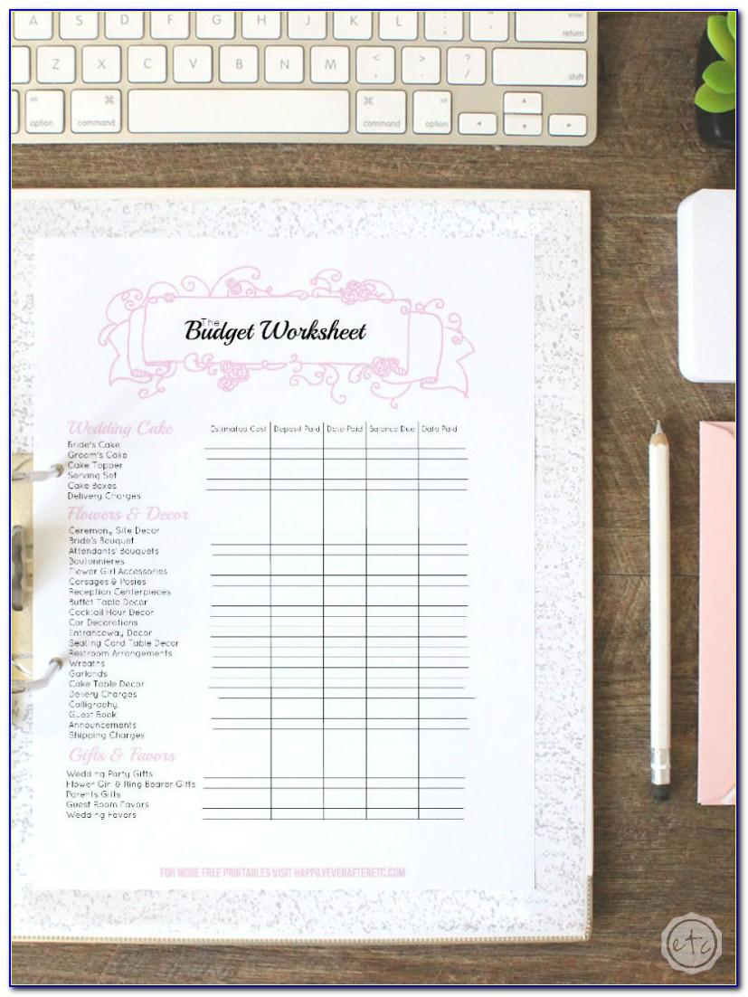 Wedding Planning Checklist Printable Timeline