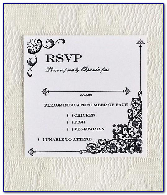Wedding Reception Menu Template Free
